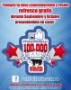 Vaso conmemorativo 100,000 fans